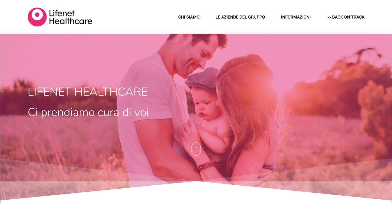 lifenet-group-website – tiablo studio grafico web