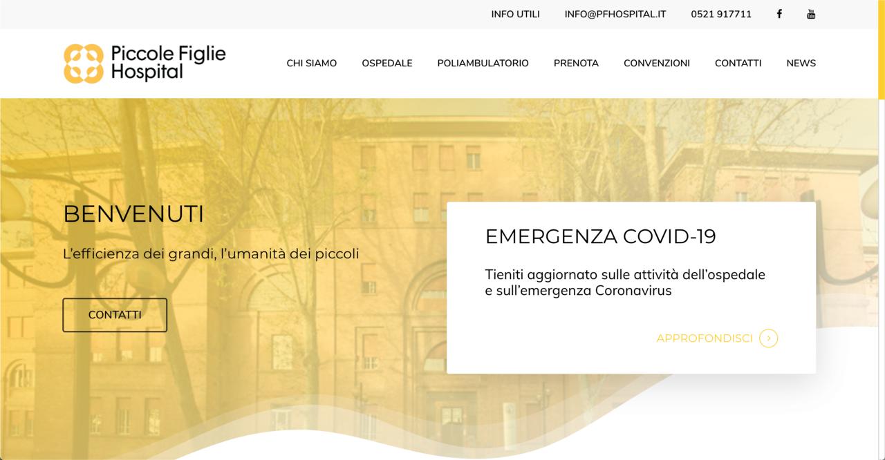 pfh-website – tiablo studio grafico web